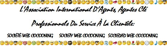 Association International D'Agents, Agentes Clé Professionnels Du Service À La Clientèle