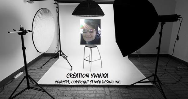 CRÉATION YVANKA CONCEPT, COPYRIGHT, WEB DESING