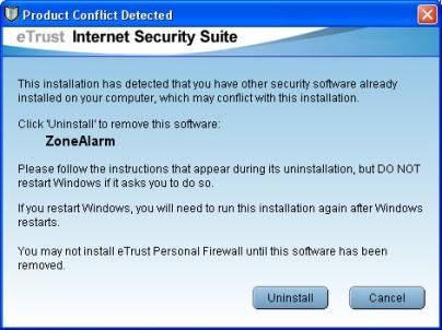 eTrust Internet Security Suite - 8