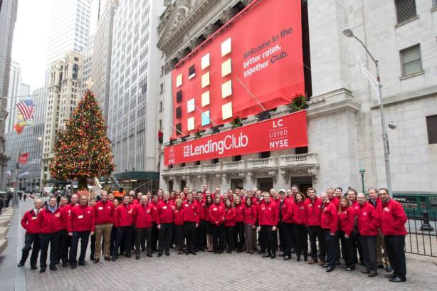 Lending Club À New York Stock Exchange  2