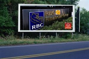 PANNEAU, PRÉSENTATION, PUB, Banque Royale du Canada (RBC) 2