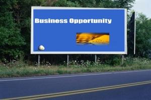 PANNEAU, PRÉSENTATION, PUB, BUSINESS OPPORTUNITY 1