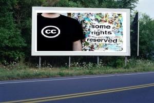 PANNEAU, PRÉSENTATION, PUB, CC SOME RIGHTS RESERVED 1