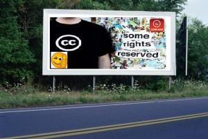 PANNEAU, PRÉSENTATION, PUB, CC SOME RIGHTS RESERVED 2