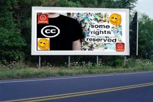 PANNEAU, PRÉSENTATION, PUB, CC SOME RIGHTS RESERVED 3