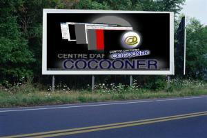 PANNEAU, PRÉSENTATION, PUB, CENTRE D'AFFAIRES COCOONER CENTRE D'AFFAIRES COCOONER 2
