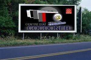PANNEAU, PRÉSENTATION, PUB, CENTRE D'AFFAIRES COCOONER CENTRE D'AFFAIRES COCOONER 3