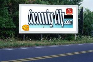 PANNEAU, PRÉSENTATION, PUB, Cocooning City 3