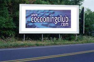 PANNEAU, PRÉSENTATION, PUB, Cocooning Club 1