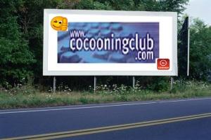 PANNEAU, PRÉSENTATION, PUB, Cocooning Club CODE-BAR 2