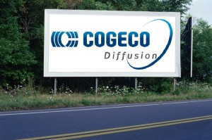 PANNEAU, PRÉSENTATION, PUB, COGÉCO DIFFUSION 1