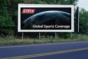 PANNEAU, PRÉSENTATION, PUB, STATS GLOBAL SPORTS COVERAGE 1