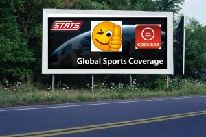 PANNEAU, PRÉSENTATION, PUB, STATS GLOBAL SPORTS COVERAGE 2