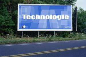PANNEAU, PRÉSENTATION, PUB, TECHNOLOGIE 1