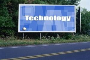 PANNEAU, PRÉSENTATION, PUB, TECHNOLOGY 1