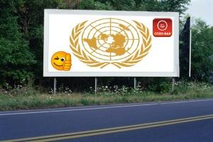 PANNEAU, PRÉSENTATION, PUB, UNITED NATIONS 2