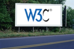 PANNEAU, PRÉSENTATION, PUB, W3C 1