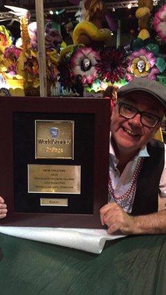 Poly Hyacinthe-Delorme Remporté L'or Compétition à New Orleans 23-04-2016