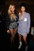 NEW YORK, NY - MARCH 30: (Exclusive Coverage) Beyonce and Rihanna attend the Tidal launch event #TIDALforALL at Skylight at Moynihan Station on March 30, 2015 in New York City. Kevin Mazur/Getty Images For Roc Nation/AFP