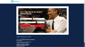 Say You're In to Elect Democrats