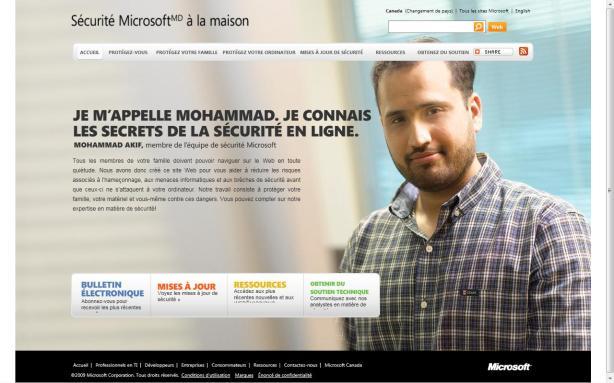 Sécurité Pour La Famille De Microsoft