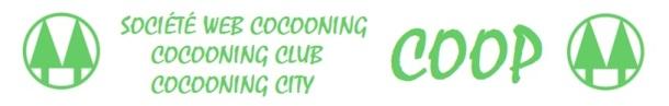 SOCIÉTÉ WEB COCOONING - CLUB - CITY - COOP - LOGO