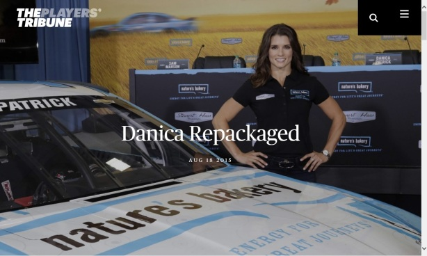 THE PLAYERS' TRIBUNE DANICA REPACKAGED