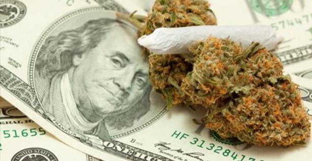 THE US MONEY IS IN WEED BUSINESS