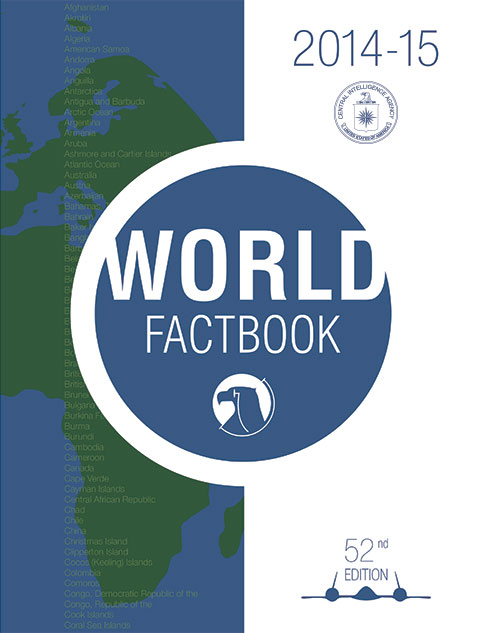 The World Factbook - Wikipedia - Avril 2013-2014 COVER PAGE
