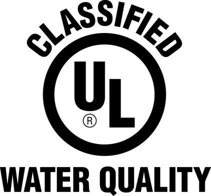 UL Classified Water Quality Mark